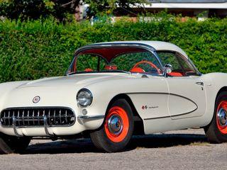 1957 Chevrolet Corvette Big Brake Airbox