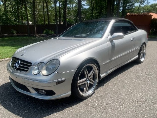 2005 Mercedes-Benz CLK55 AMG Convertible