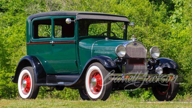 1929 Ford Model A – 201Ci I4 – 3 Spd Manual