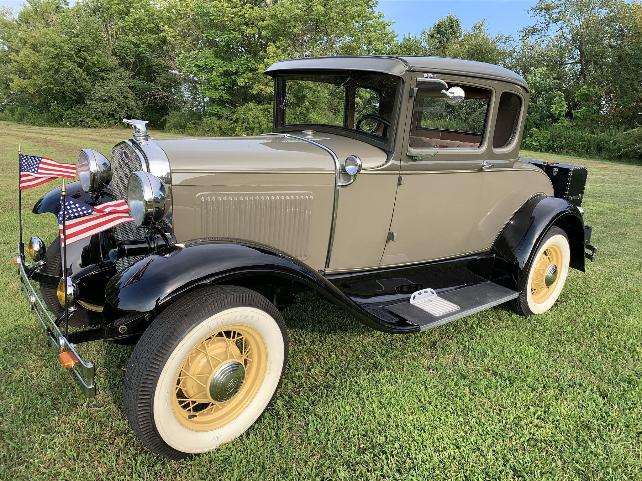 1931 Ford Model A Deluxe Rumble Seat Coupe