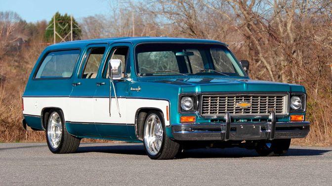 1973 Chevrolet Suburban Cheyenne Super