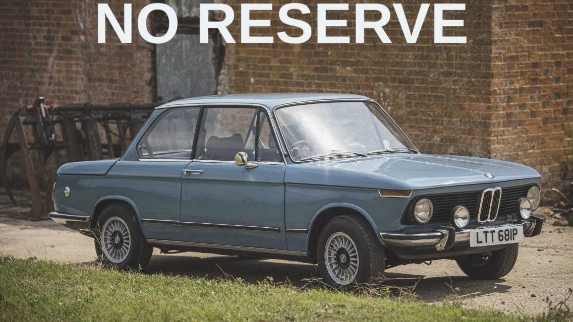 1975 BMW 1502 2DR