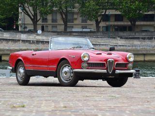 1960 Alfa Romeo 2000 Spider Touring