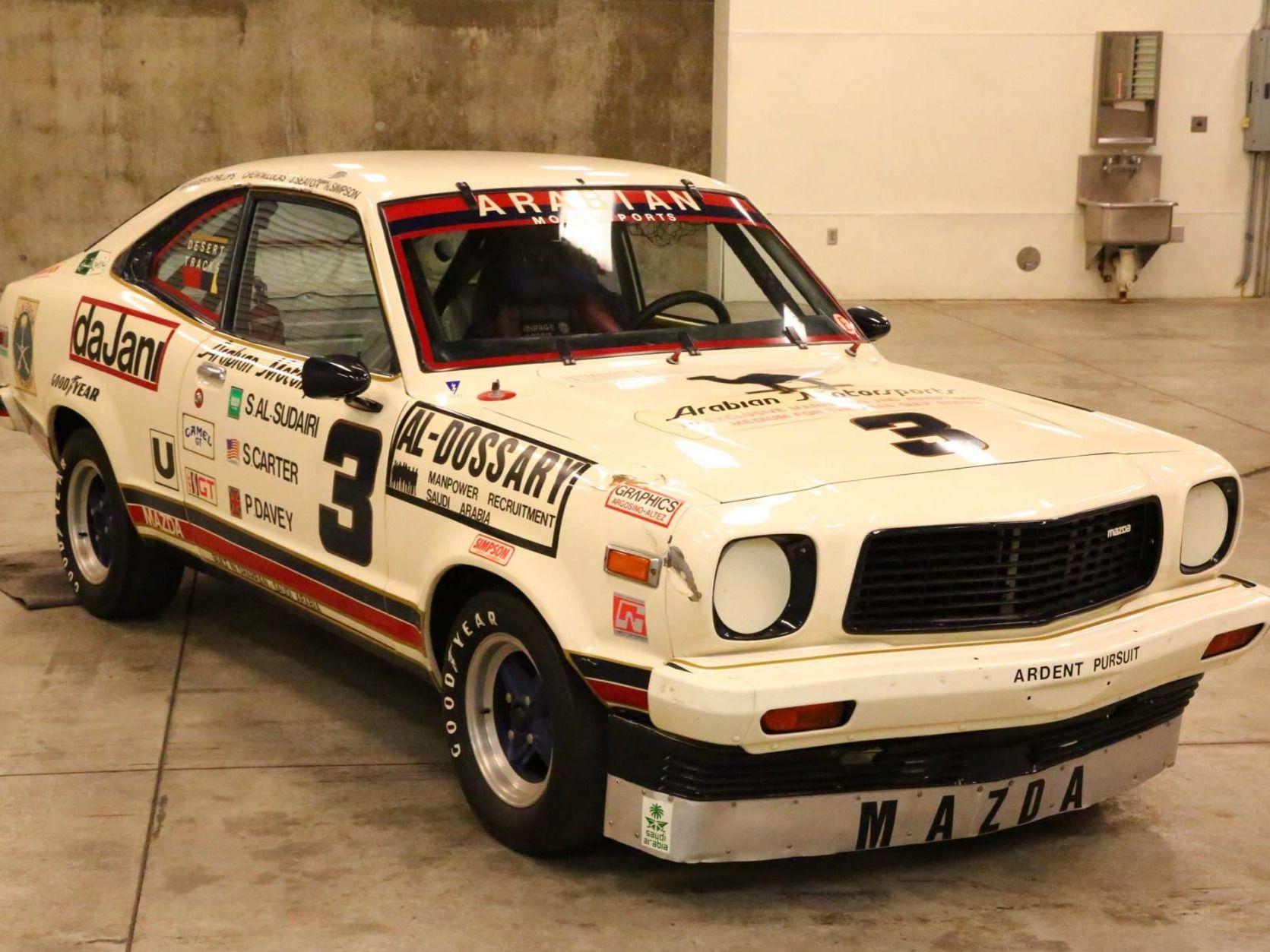 1978 Mazda 808 Race Car