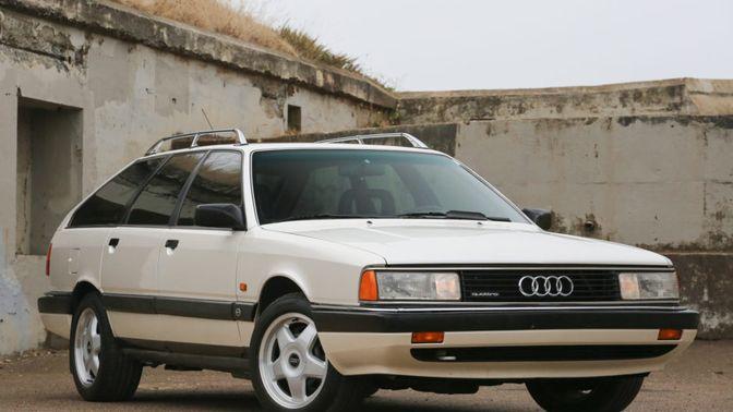 1991 Audi 200 Avant Quattro Turbo 5-Speed