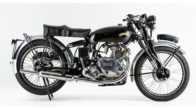 1954 Vincent 499CC Comet Series C