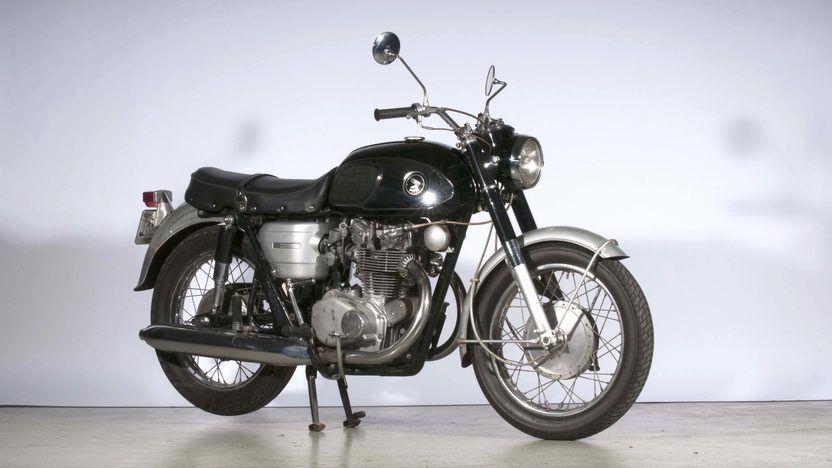 1967 Honda CB450 Ko Black Bomber