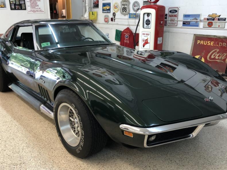1969 Chevrolet Corvette 350/350 4-Speed
