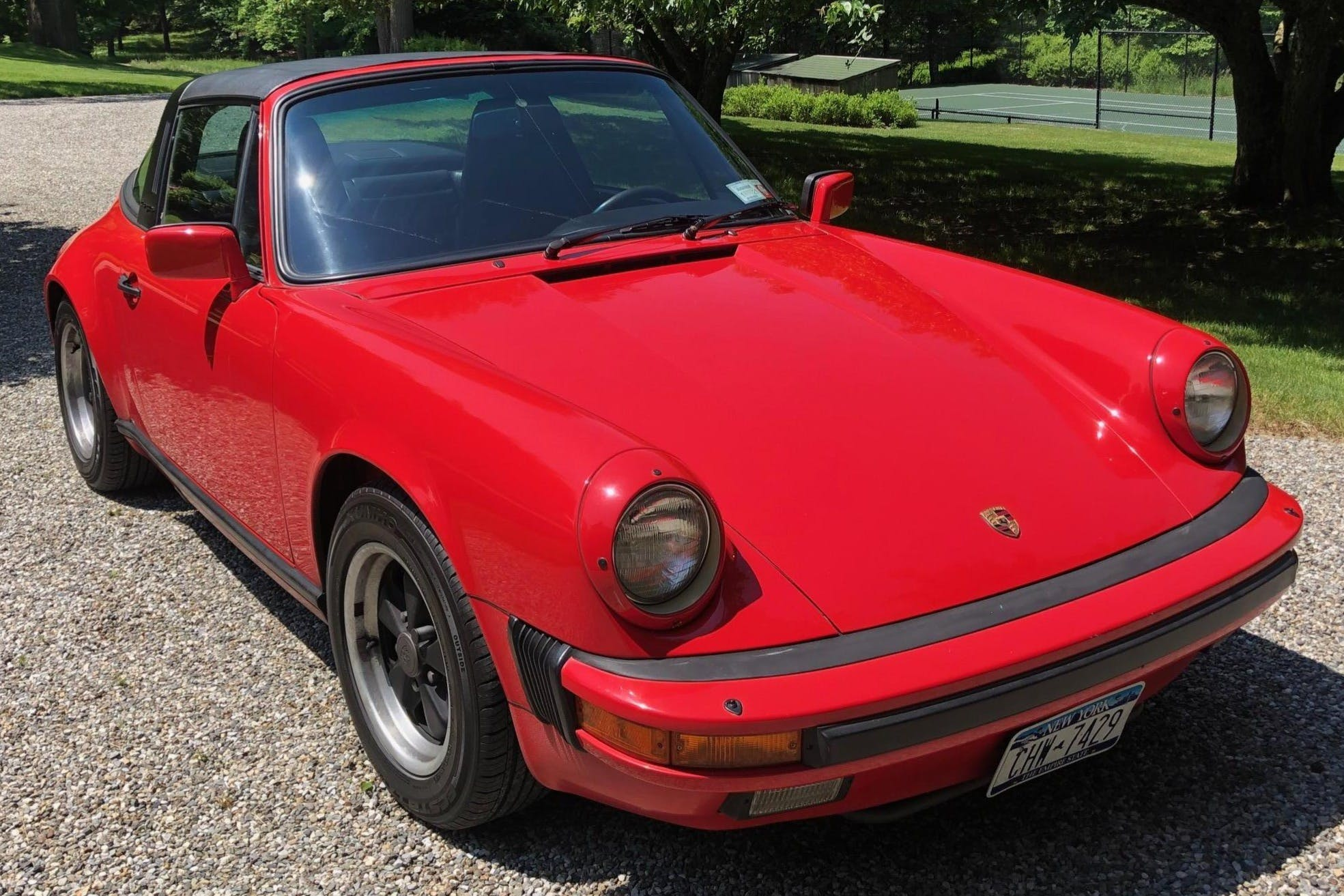 1986 Porsche 911 Carrera Targa Vin Wp0eb0917gs160242 Classic Com
