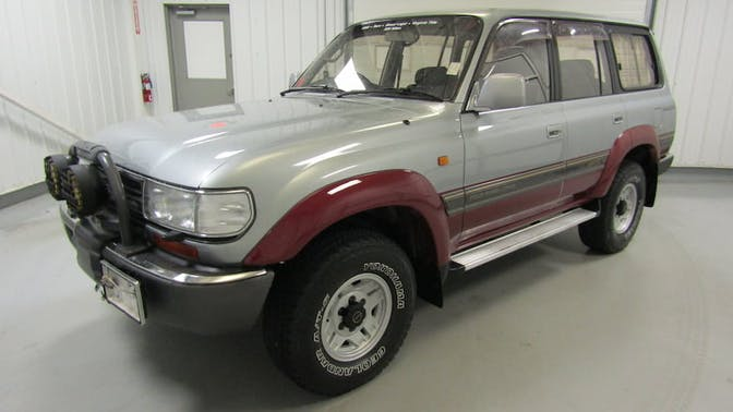 1990 Toyota Land Cruiser Vx Limited