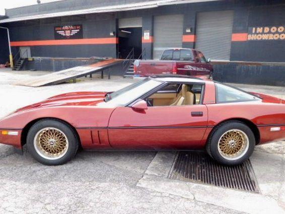 1987 Chevrolet Corvette Callaway Twin Turbo