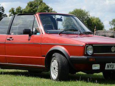1982 Volkswagen Golf Gli MK1 Cabriolet