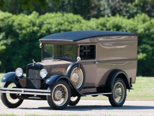 1928 Erskine 51B Panel Truck
