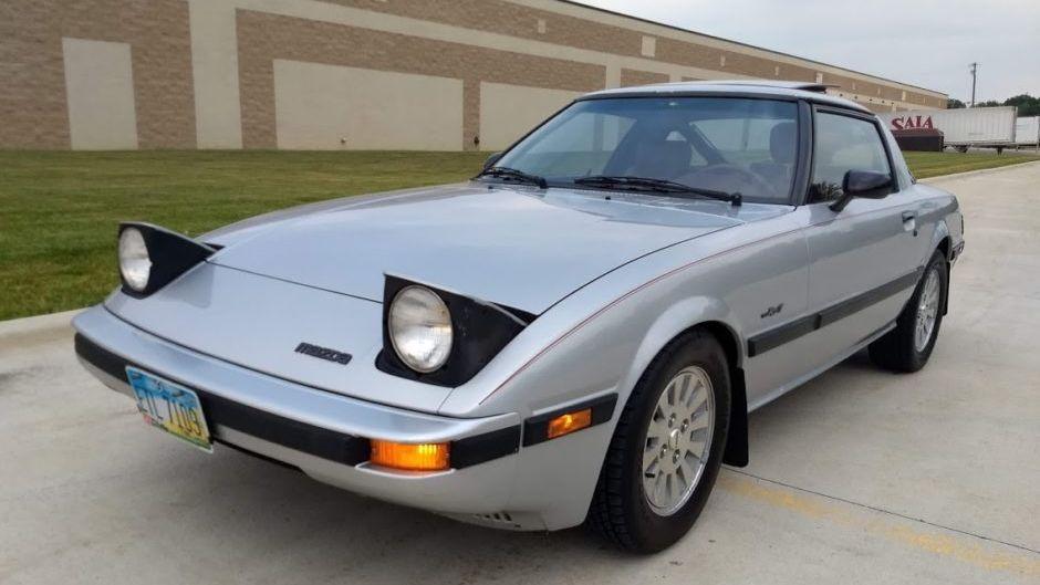 1984 Mazda RX-7 Gsl-SE