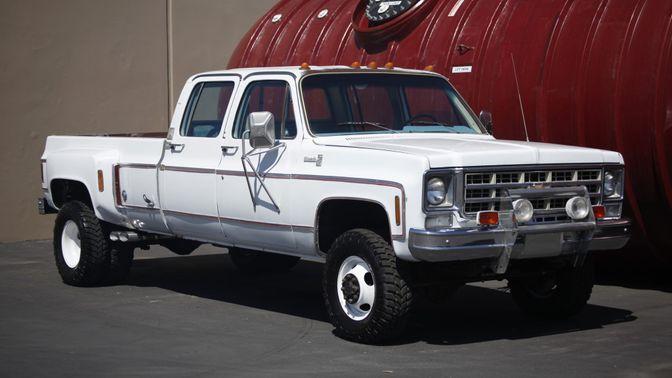 1978 Chevrolet K30 Silverado Dually 4×4 4-Speed