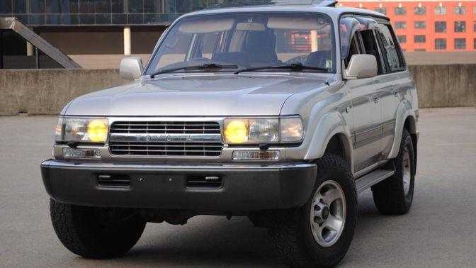 1991 Toyota Land Cruiser FJ80 Vx Limited