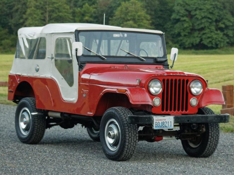 1972 Jeep CJ6 V8