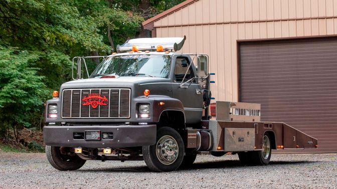 1991 GMC C60 Custom Ramp Truck