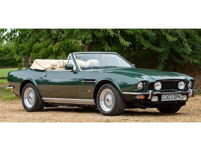 1990 Aston Martin V8 Volante Convertible