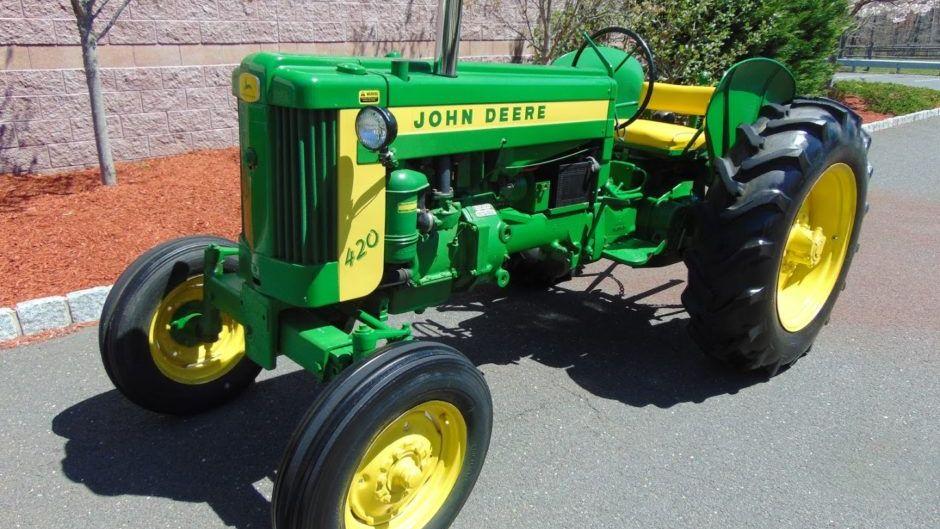 1957 John Deere 420W