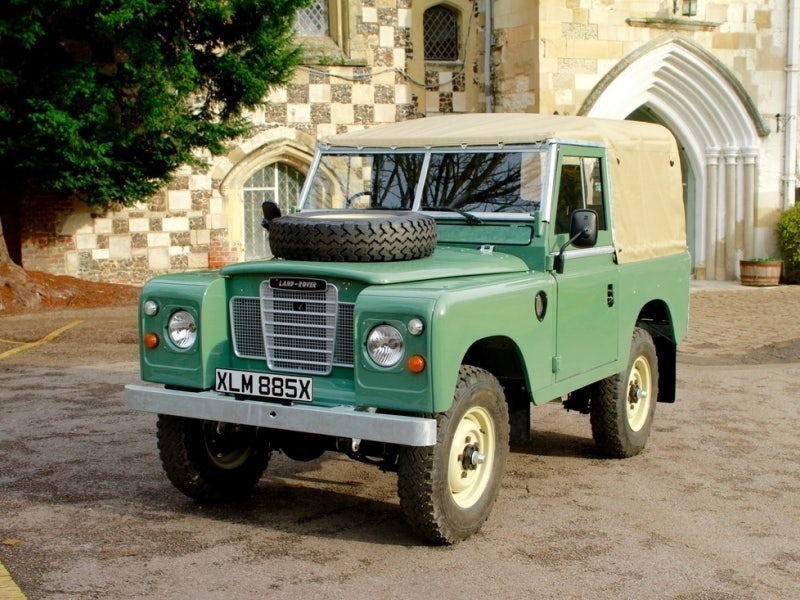1982 Land Rover Series III 88 Inch