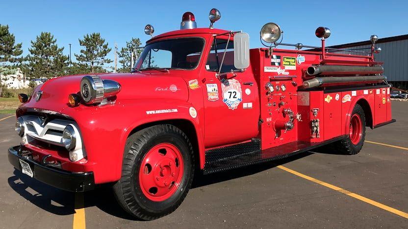 1955 Ford F600 Fire Truck