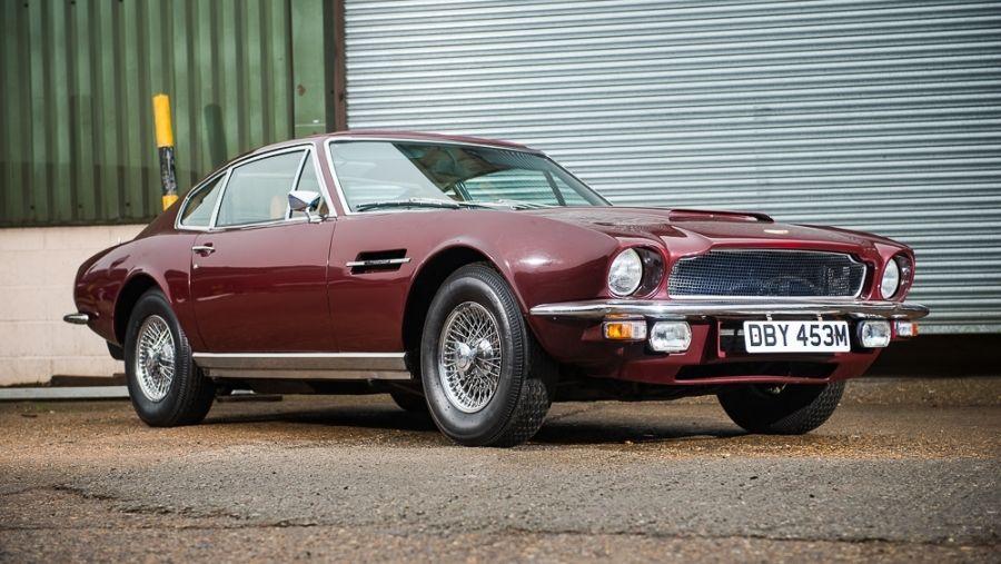 1973 Aston Martin Vantage Automatic Vin Am6053ra Classic Com