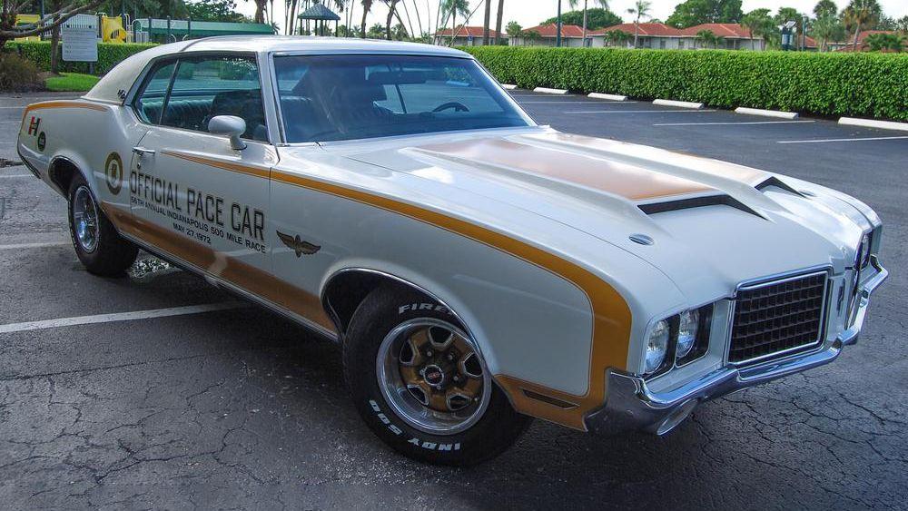 1972 Oldsmobile Hurst Pace Car Re-Creation