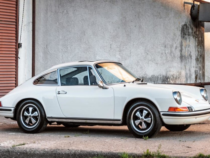 1970 Porsche 911T Sunroof Coupe