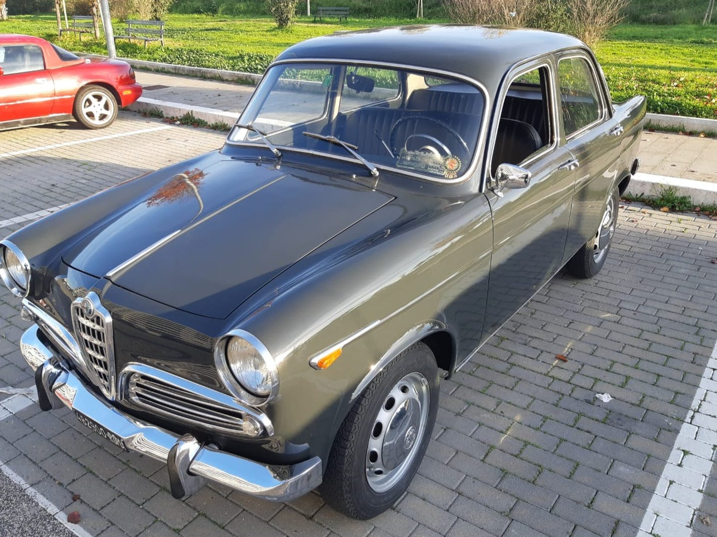 1961 Alfa Romeo Giulietta Ti