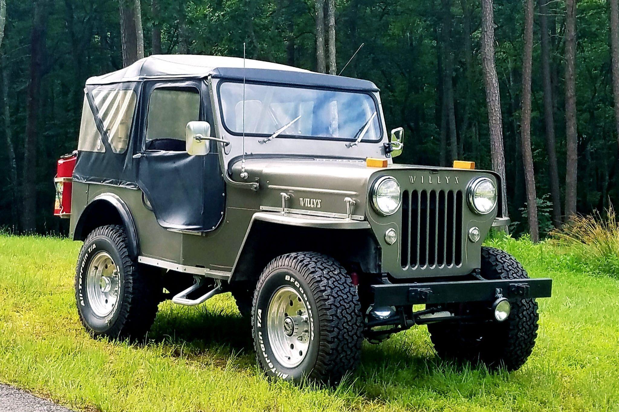Jeep Willys Cj3b Market Classic Com