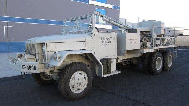 1955 Reo M36 C 6X6 Military
