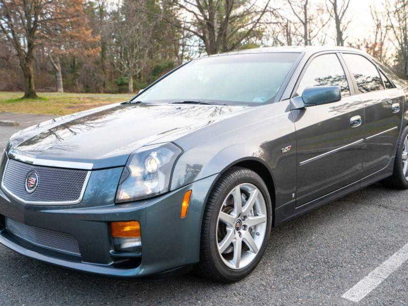 2007 Cadillac Cts-V 6-Speed
