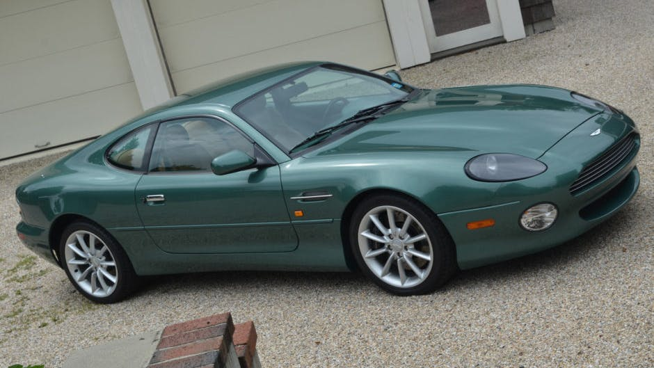 2000 Aston Martin Db7 Vantage Coupe V12 Vin Scfab2239yk300199 Classic Com