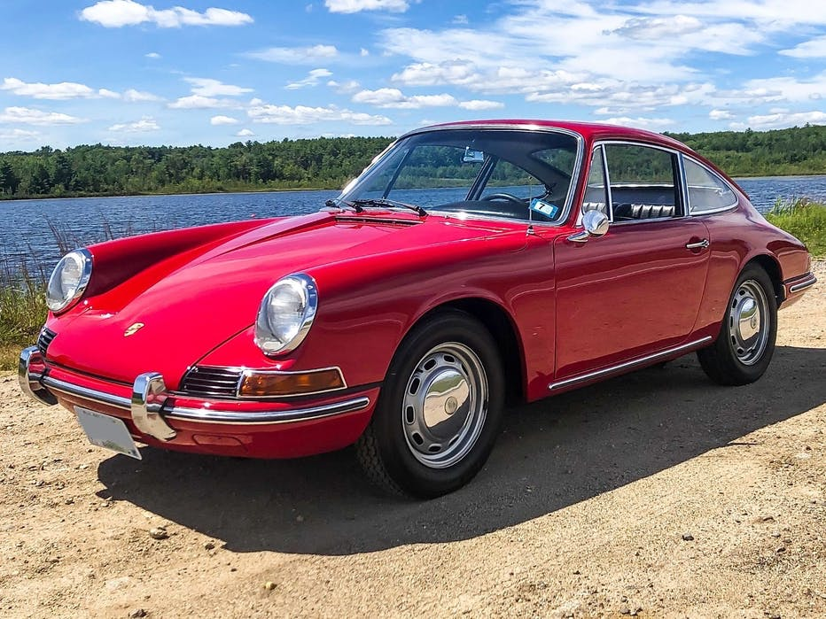 1966 Porsche 912 Coupe Polo Red