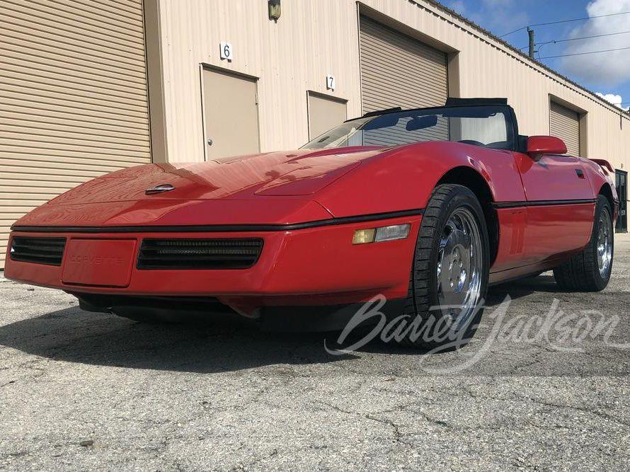 1988 Chevrolet Corvette 350/240 Convertible