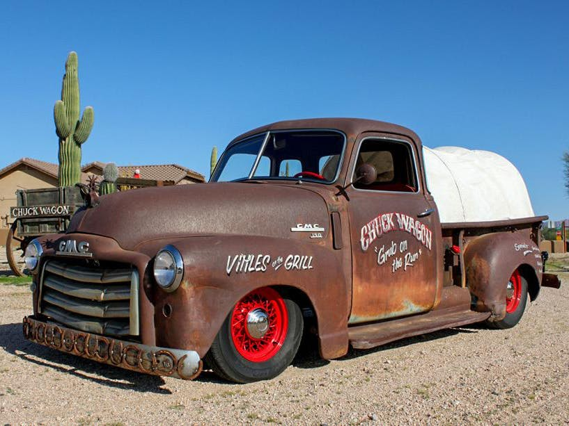 1950 GMC Custom Pickup 'Chuck Wagon'