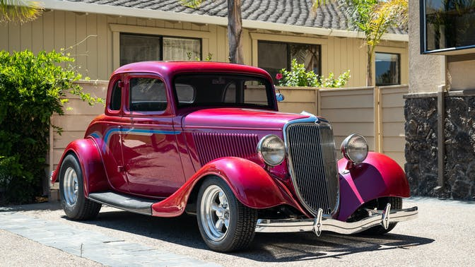 1934 Ford Model 40 5-Window Coupe