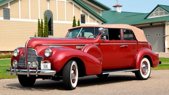 1940 Buick Model 81-C Limited Convertible Phaeton