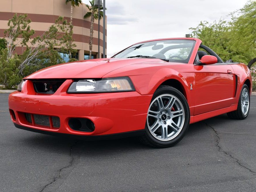 2003 Ford Mustang Cobra Svt Convertible