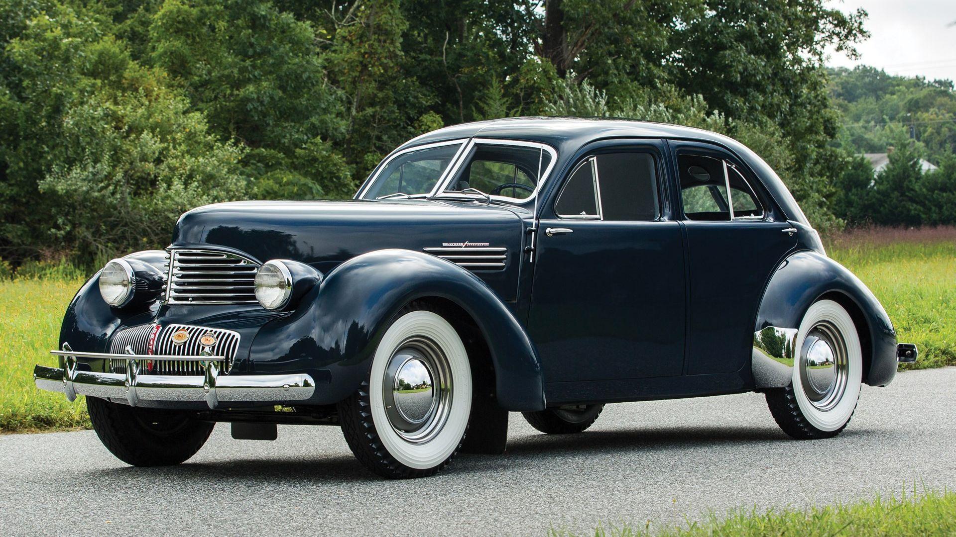 1941 Graham Hollywood Custom Supercharged Sedan