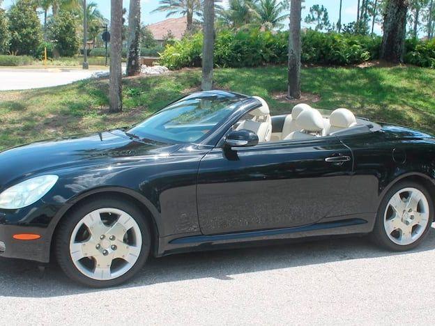 2002 Lexus SC430 Convertible