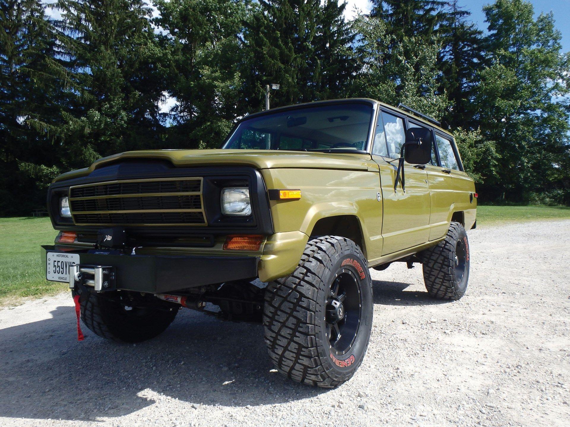 1986 Jeep Custom