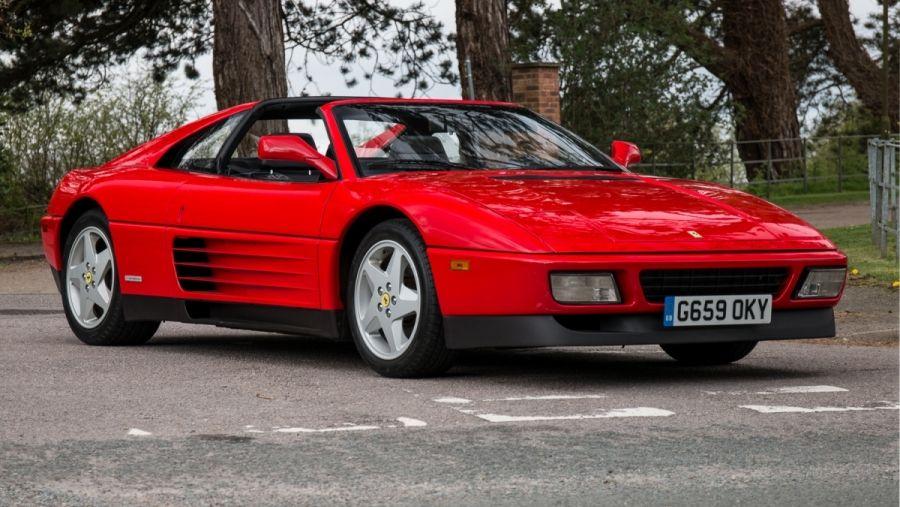 1989 Ferrari 348ts Vin Zfffa36a9k0082453 Classic Com