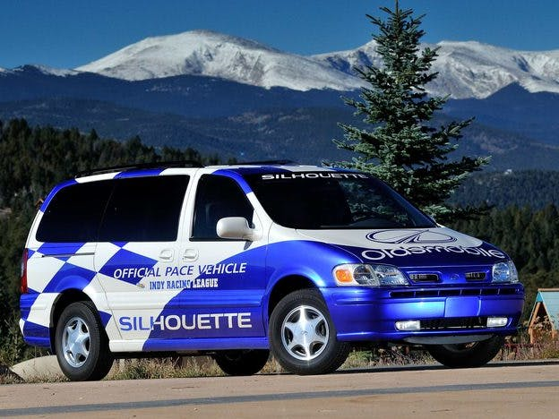 1999 Oldsmobile Silouette Irl Support Vehicle