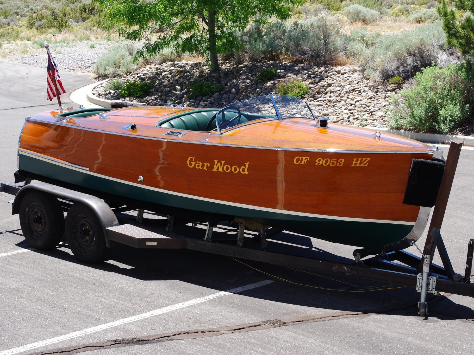 1932 Gar Wood Split-Cockpit Runabout