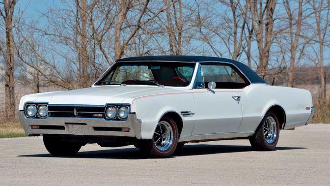 1966 Oldsmobile Cutlass 442 Coupe