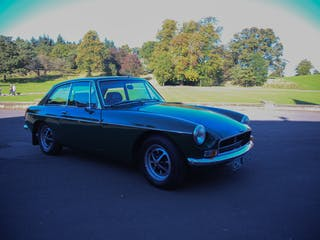 1972 MGB GT Coupe
