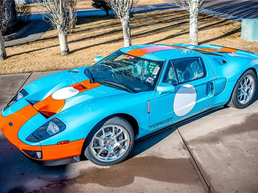 2006 Ford GT Heritage Edition With Less Than 5 Actual Miles