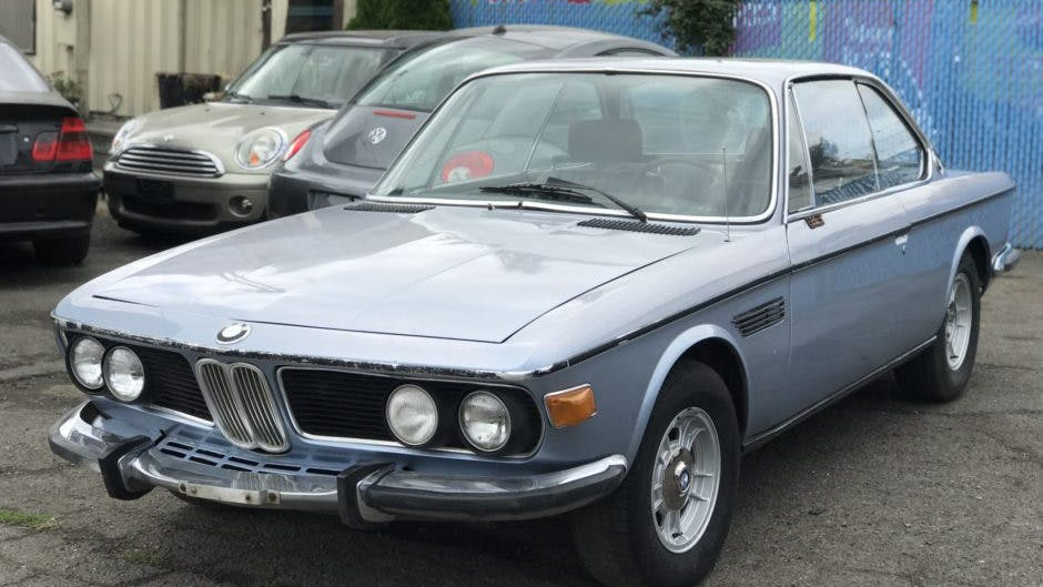 1970 BMW 2800CS Project